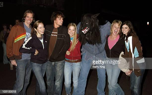 Jesse Warren Autumn Reeser Darin Brooks Ashley Benson Werewolf Judi Evans and Rachel Melvin