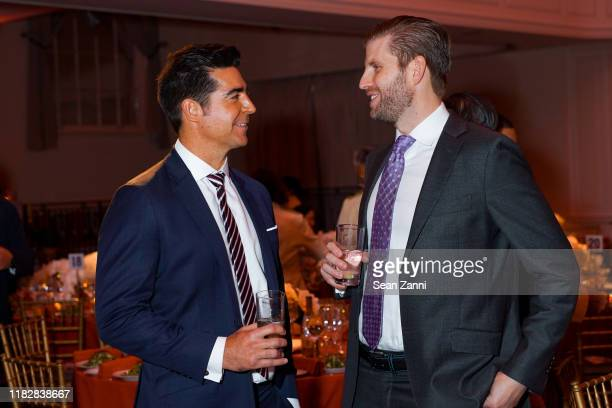 Jesse Watters and Eric Trump attend Rescue Dogs Rock NYC Celebrates Their 2nd Annual Gala To Raise Funds Awareness To Help Animals In Need on October...