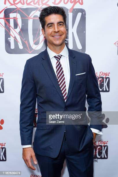 Jesse Watters attends Rescue Dogs Rock NYC Celebrates Their 2nd Annual Gala To Raise Funds Awareness To Help Animals In Need on October 22 2019 in...