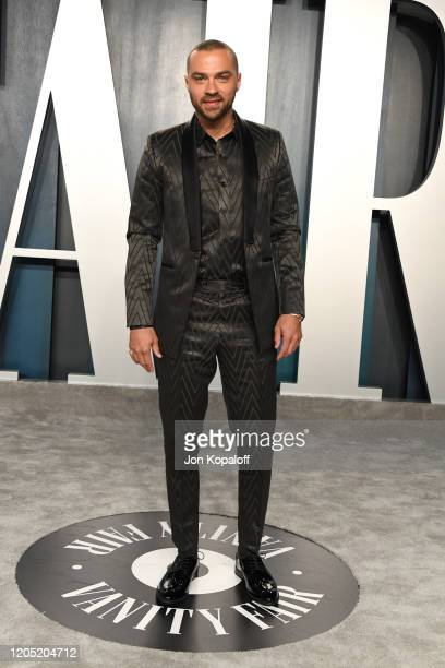 Jesse Wesley Williams attends the 2020 Vanity Fair Oscar Party hosted by Radhika Jones at Wallis Annenberg Center for the Performing Arts on February...