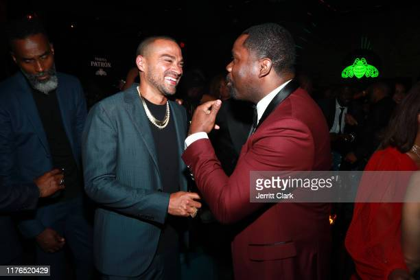 Jesse Williams and Oronde Garrett attends the Second Annual 'Celebrate The Culture II' Celebrates Diversity In Hollywood Presented By PATRÓN Tequila...