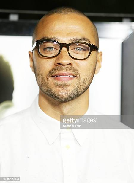 Jesse Williams arrives at the special Los Angeles screening of '12 Years A Slave' held at Directors Guild of America on October 14 2013 in Los...