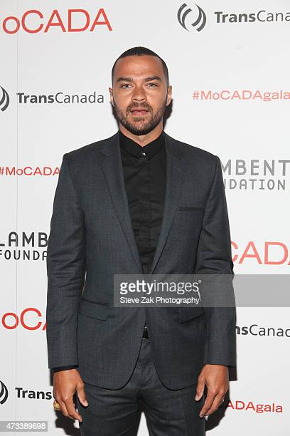 Jesse Williams attends 2015 MoCADA Masquerade Ball at Brooklyn Academy of Music on May 14 2015 in New York City