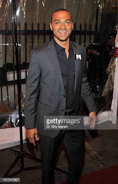 Jesse Williams attends the 10th Annual Heroes in the Struggle Gala at the Avalon on December 1 2010 in Hollywood California