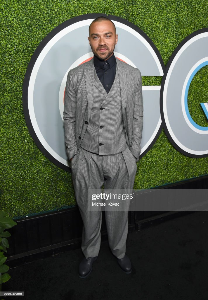 Jesse Williams attends the 2017 GQ Men of the Year party at Chateau Marmont on December 7, 2017 in Los Angeles, California.