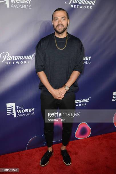 Jesse Williams attends The 22nd Annual Webby Awards at Cipriani Wall Street on May 14 2018 in New York City