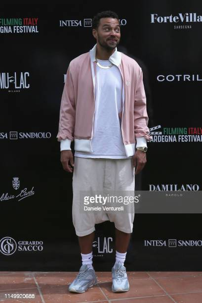 Jesse Williams attends the Filming Italy Sardegna Festival 2019 Day 2 Photocall at Forte Village Resort on June 14, 2019 in Cagliari, Italy.