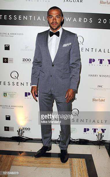 Jesse Williams attends the Quintessentially Awards at Freemasons Hall on June 1 2010 in London England