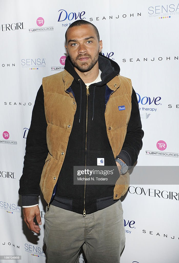 Jesse Williams attends the TR Suites Daytime Lounge - Day 1 on January 18, 2013 in Park City, Utah.