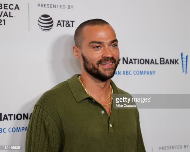 """Jesse Williams attends the """"Untitled: Dave Chappelle Documentary"""" Premiere during the 2021 Tribeca Festival at Radio City Music Hall on June 19, 2021..."""