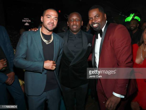 Jesse Williams Chaka Zulu and Oronde Garrett attend the Second Annual 'Celebrate The Culture II' Celebrates Diversity In Hollywood Presented By...