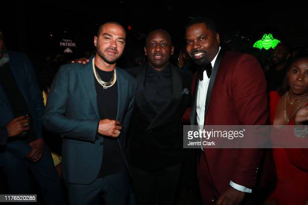 Jesse Williams Chaka Zulu and Oronde Garrett attends the Second Annual 'Celebrate The Culture II' Celebrates Diversity In Hollywood Presented By...