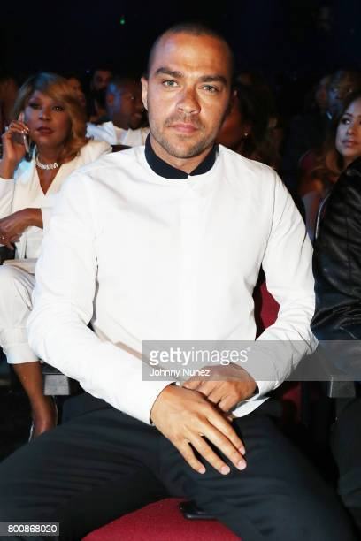Jesse Williams in the audience at 2017 BET Awards at Microsoft Theater on June 25 2017 in Los Angeles California