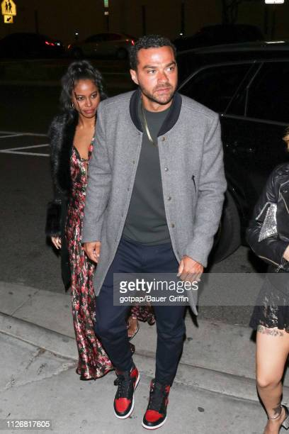 Jesse Williams is seen on February 23 2019 in Los Angeles California