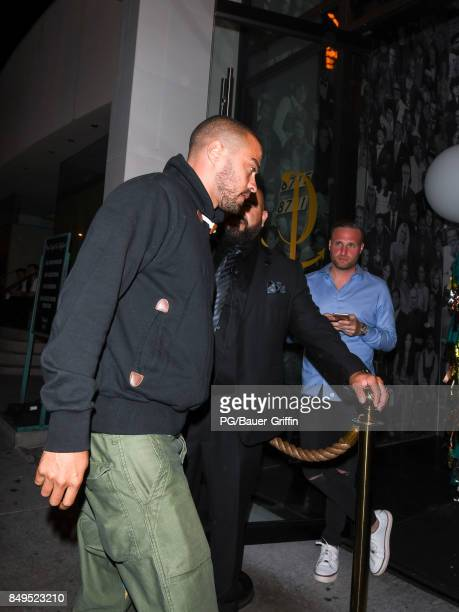 Jesse Williams is seen on September 18 2017 in Los Angeles California