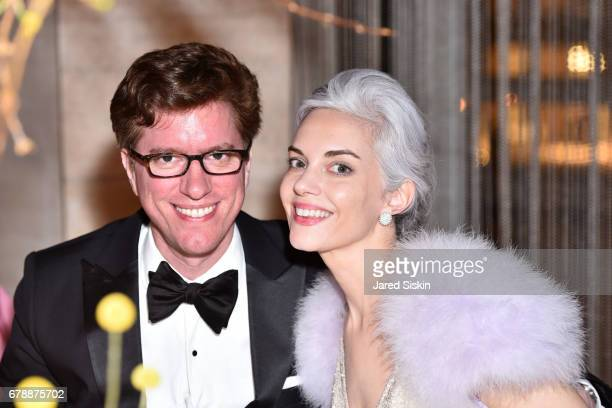 Jesse Zanger and Cordelia Zanger attend the New York City Ballet 2017 Spring Gala at David H Koch Theater Lincoln Center on May 4 2017 in New York...