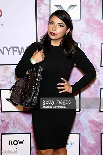 Jessenia Vice attends Kia STYLE360 hosts Angela Simmons Fashion Show for Vipe Activewear at Metropolitan West on September 13 2016 in New York City