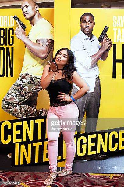 Jessenia Vice attends the Central Intelligence Private Screening at AMC Loews Lincoln Square on June 14 2016 in New York City