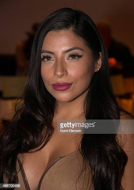 Jessenia Vice attends Tumbler And Tipsy By Michael Kuluva New York Fashion Week runway show on September 16 2015 in New York City