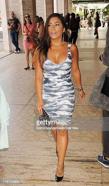 Jessenia Vice is seen on September 6 2013 in New York City