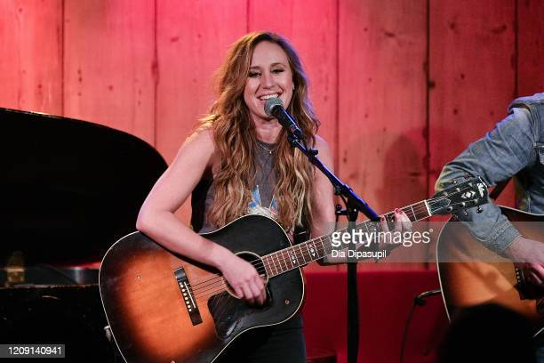 Jessi Alexander performs onstage at Rockwood Music Hall on February 27 2020 in New York City