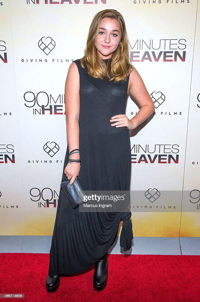 Jessi Case attends '90 Minutes In Heaven' Atlanta premiere at Fox Theater on September 1, 2015 in Atlanta, Georgia.