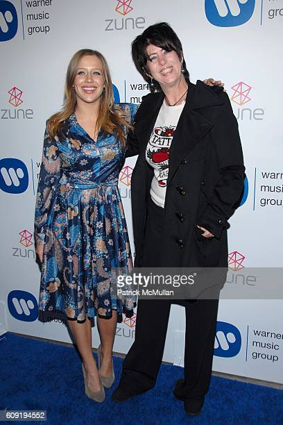 Jessi Collins and Diane Warren attend Warner Music Group's 2007 Grammy After Party ARRIVALS at The Cathedral on February 11 2007 in Los Angeles CA
