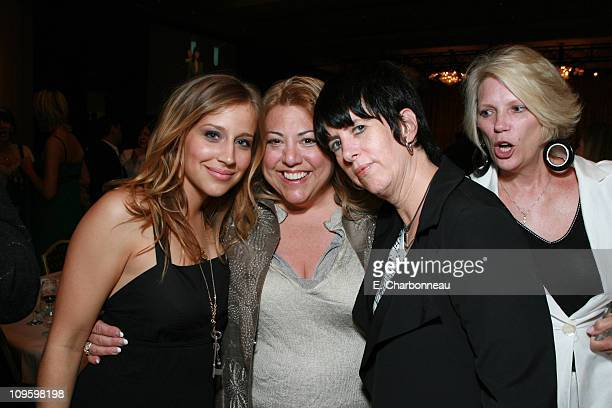 Jessi Collins WIF's Lucy Webb and Diane Warren during Women In Film presents FILM BRINGS US THE WORLD The 2006 Crystal Lucy Awards at The Century...