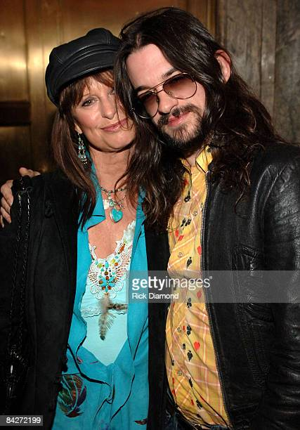 Jessi Colter and son Shooter Jennings