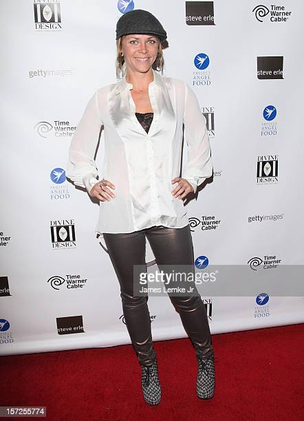 Jessi Combs attends the Project Angel Food's VIP Shopping Cocktail Party held at Divine Design 2012 on November 30 2012 in Los Angeles California