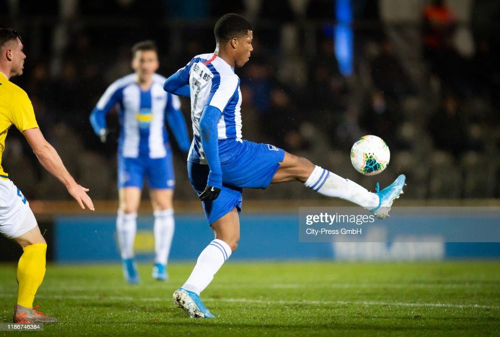 Hertha BSC U23 v 1. FC Lokomotive Leipzig - Regionalliga Nordost : News Photo