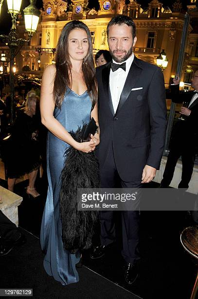Jessica Adams and James Purefoy attend 'The Soiree Monegasque' hosted by Roger Dubuis CEO Georges Kern to launch 'Le Monegasque' range at the Hotel...