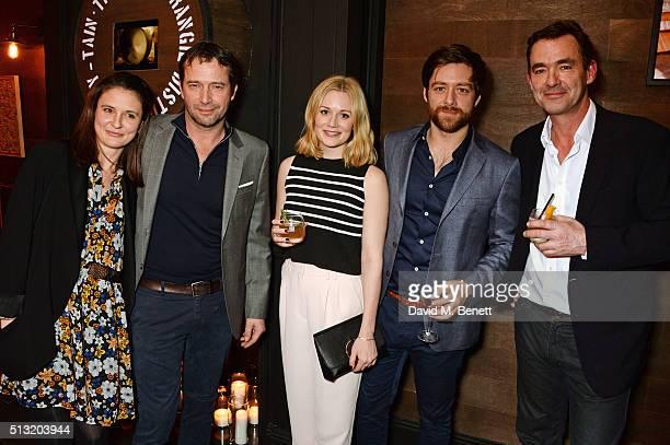 Jessica Adams, James Purefoy, Cara Theobold, Richard Rankin and Richard Lintern attend the launch of Glenmorangie and Finlay & Co. Collaboration...