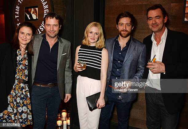 Jessica Adams, James Purefoy, Cara Theobold, Richard Rankin and Richard Lintern attend the launch of Glenmorangie and Finlay & Co. Collaboration...