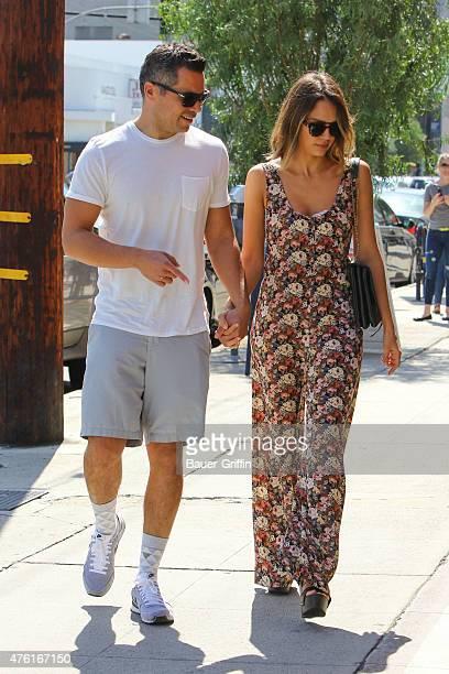 Jessica Alba and Cash Warren are seen on June 06 2015 in Los Angeles California