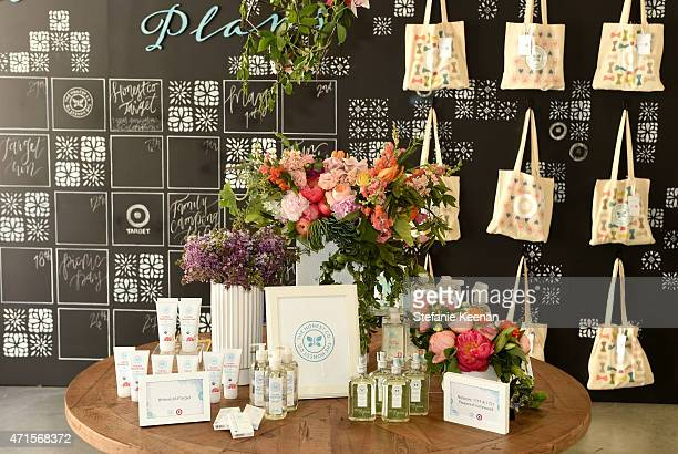 Jessica Alba and Christopher Gavigan celebrate the oneyear anniversary of The Honest Company at Target on April 29 2015 in Los Angeles California