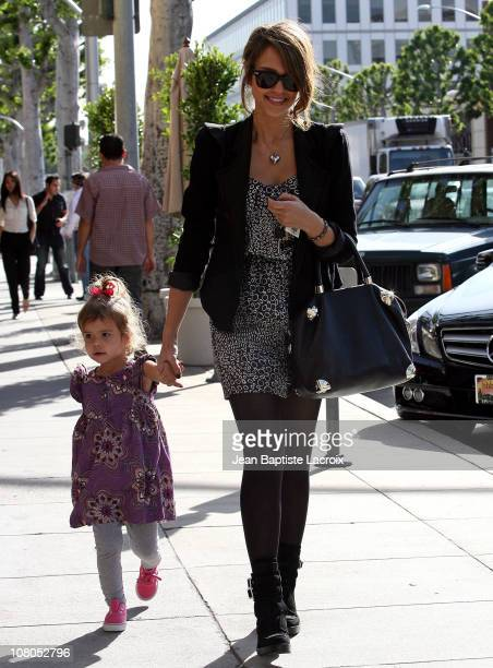 Jessica Alba and Honor Warren are seen on January 14 2011 in Los Angeles California
