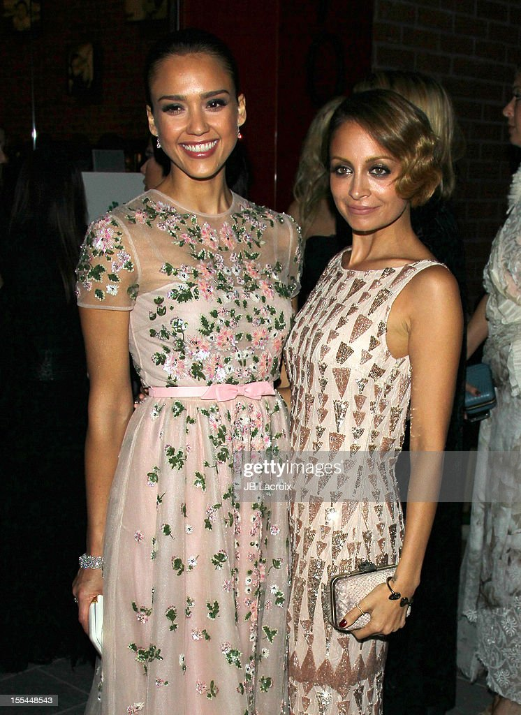 Jessica Alba and Nicole Richie attend the 1st Annual Baby2Baby Gala Presented By Harry Winston at Book Bindery on November 3, 2012 in Culver City, California.