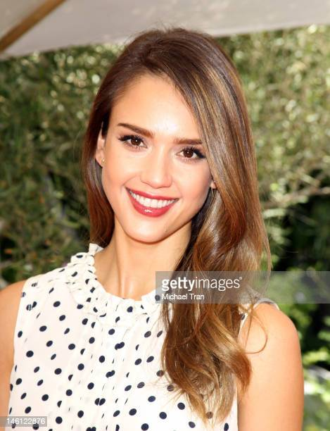 Jessica Alba arrives at the 2012 Plush Event - L.A.'s premier luxury baby and toddler show held at Vibiana on June 10, 2012 in Los Angeles,...