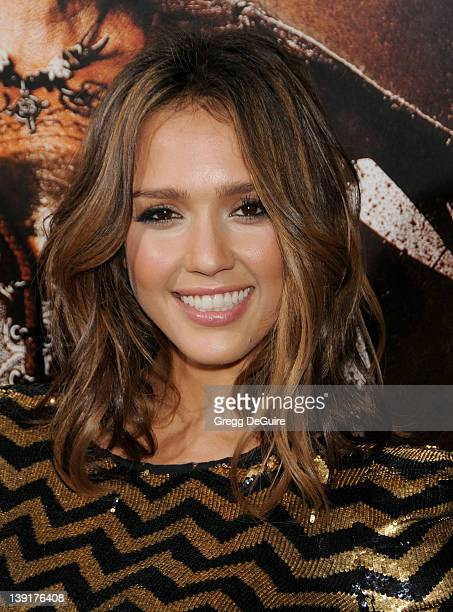 Jessica Alba arrives at the Los Angeles Screening of 'Machete' at the Orpheum Theater on August 25 2010 in Los Angeles California