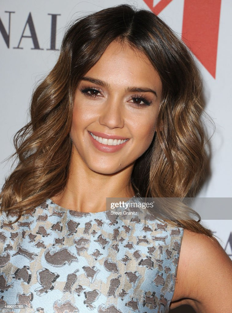 Jessica Alba arrives at the The Helping Hand Of Los Angeles Mother's Day Luncheon at The Beverly Hilton Hotel on May 9, 2014 in Beverly Hills, California.