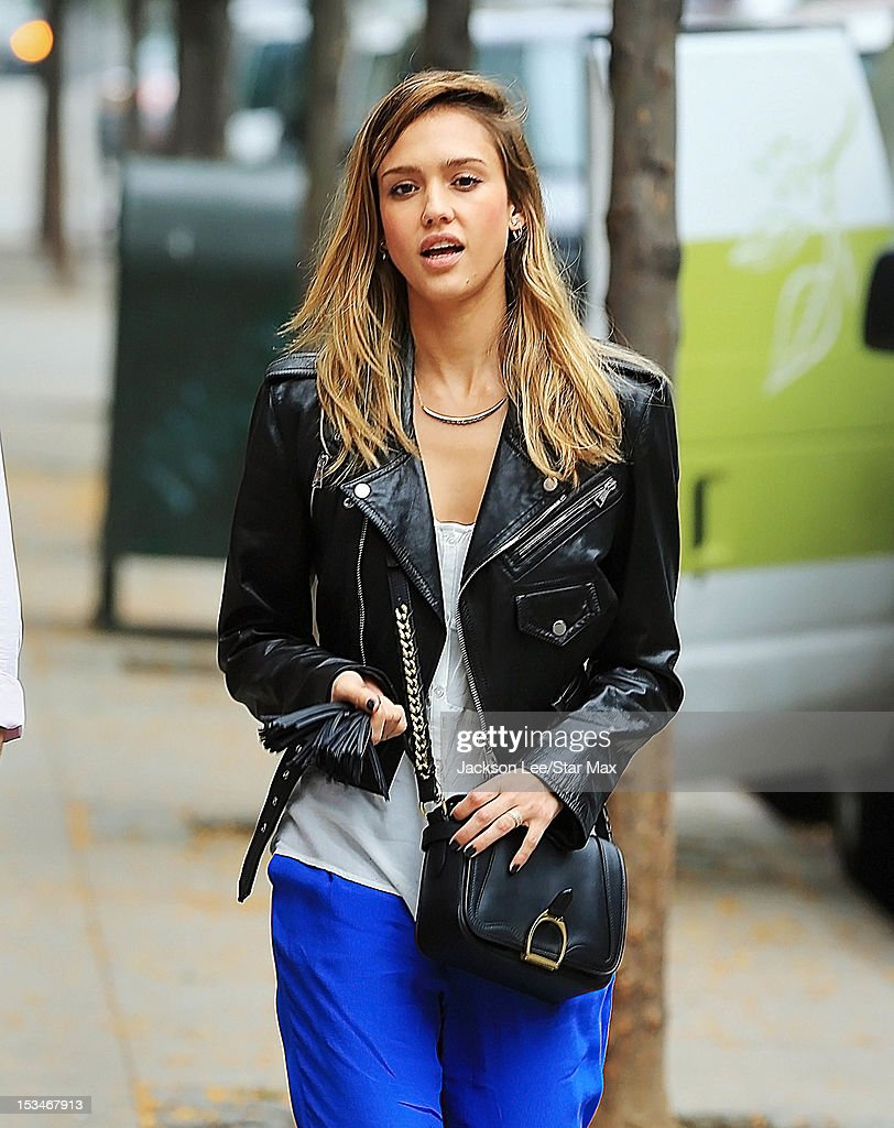 Jessica Alba as seen on October 4, 2012 in New York City.