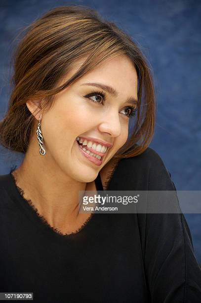 Jessica Alba at the 'Machete' Press Conference on August 27 2010 at the Four Seasons Hotel in Beverly Hills California
