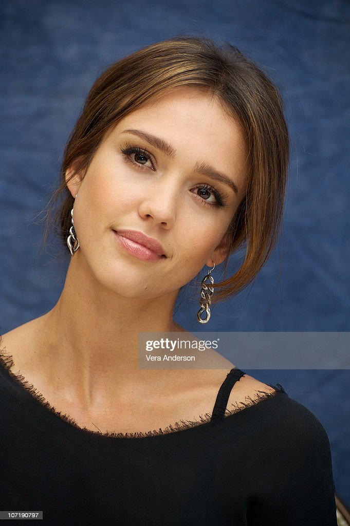 Jessica Alba at the 'Machete' Press Conference on August 27, 2010 at the Four Seasons Hotel in Beverly Hills, California.