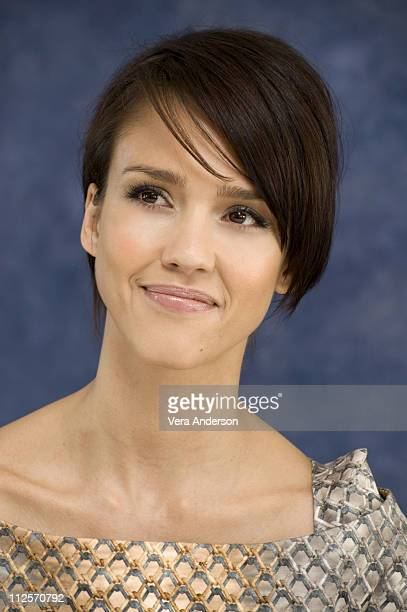 "Jessica Alba at the ""Valentine's Day"" press conference at the Beverly Hilton Hotel on February 1, 2010 in Beverly Hills, California."