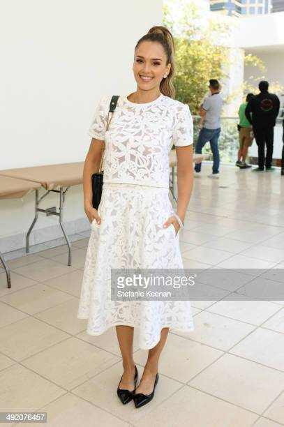 Jessica Alba attend Hammer Museum K.A.M.P. 2014 on May 18, 2014 in Los Angeles, California.