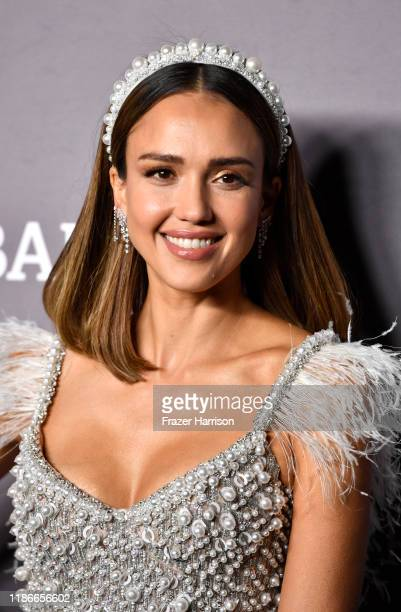 Jessica Alba attends 2019 Baby2Baby Gala Presented By Paul Mitchell at 3LABS on November 09 2019 in Culver City California