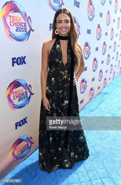 Jessica Alba attends FOX's Teen Choice Awards 2019 on August 11, 2019 in Hermosa Beach, California.