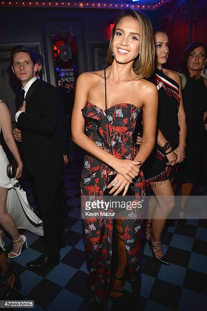 Jessica Alba attends Rihanna's private Met Gala after party at Up Down on May 4 2015 in New York City