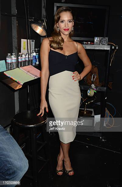 """Jessica Alba attends Spike TV's """"Guys Choice 2013"""" at Sony Pictures Studios on June 8, 2013 in Culver City, California."""